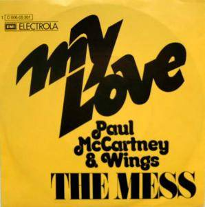 Paul McCartney & Wings: My Love - Cover