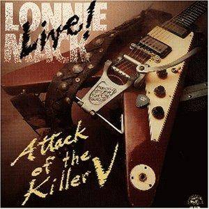 Lonnie Mack: Live! - Attack Of The Killer V - Cover