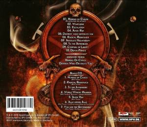 Kreator: Hordes Of Chaos - Ultra Riot (2-CD) - Bild 2