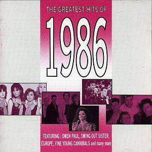 Greatest Hits Of 1986, The - Cover