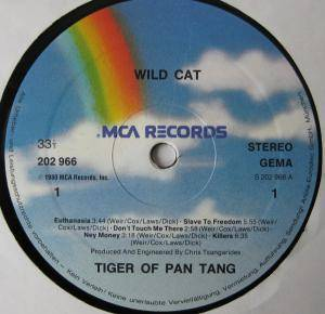 Tygers Of Pan Tang: Wild Cat (LP) - Bild 3