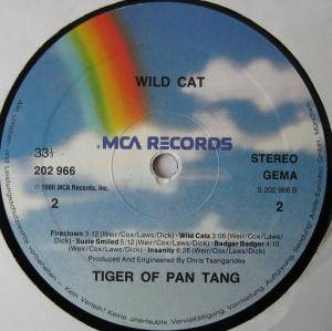 Tygers Of Pan Tang: Wild Cat (LP) - Bild 4