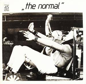 The Normal: Warm Leatherette - Cover