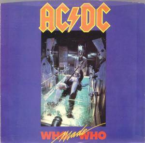 AC/DC: Who Made Who - Cover