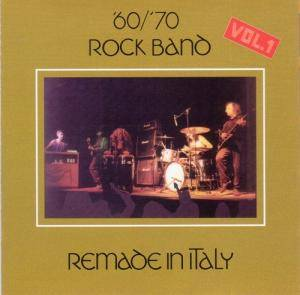 Cover - '60/'70 Rock Band: Remade In Italy