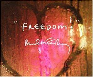 Paul McCartney: Freedom - Cover