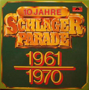 Cover - Connie Francis: 10 Jahre Schlagerparade 1961-1970