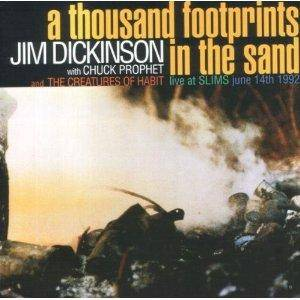 Cover - Jim Dickinson: Thousand Footprints In The Sand, A