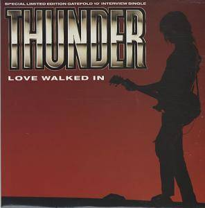 Thunder: Love Walked In - Cover