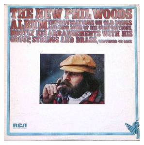 Cover - Phil Woods: New Phil Woods Album, The