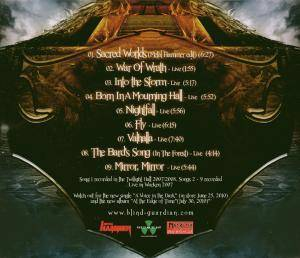 Blind Guardian: The Sacred Worlds And Songs Divine Tour 2010 (CD) - Bild 4