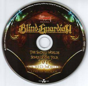 Blind Guardian: The Sacred Worlds And Songs Divine Tour 2010 (CD) - Bild 5