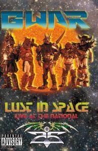 GWAR: Lust In Space - Live At The National - Cover