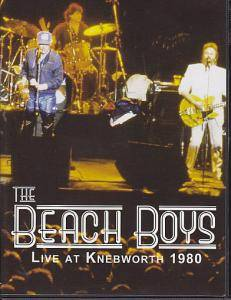 The Beach Boys: Live At Knebworth 1980 - Cover
