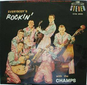 Cover - Champs, The: Everybody's Rockin' With The Champs