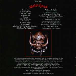 Motörhead: Iron Fist (CD) - Bild 2