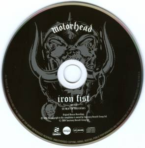 Motörhead: Iron Fist (CD) - Bild 5