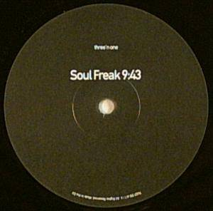 Cover - Three 'n One: Soul Freak / Drop & Roll