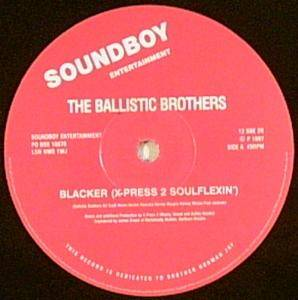 Cover - Ballistic Brothers, The: Blacker