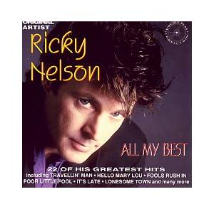 Ricky Nelson: All My Best - Cover