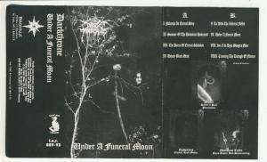 Darkthrone: Under A Funeral Moon (Tape) - Bild 1