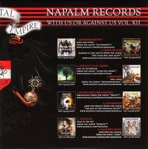 Cover - Thulcandra: Napalm Records - With Us Or Against Us Vol. XII