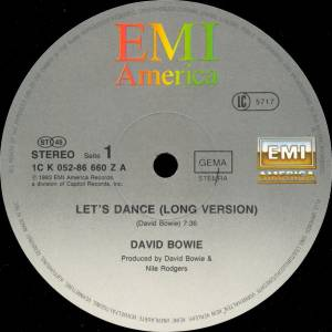 "David Bowie: Let's Dance (12"") - Bild 3"