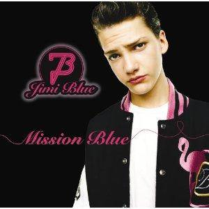 Cover - Jimi Blue: Mission Blue
