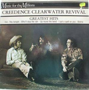 Creedence Clearwater Revival: Greatest Hits - Cover