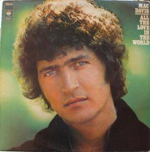 Cover - Mac Davis: All The Love In The World