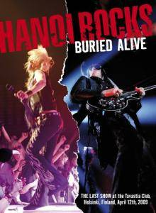 Hanoi Rocks: Buried Alive - Cover