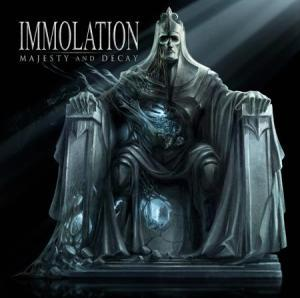 Immolation: Majesty And Decay - Cover