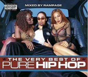 Very Best Of Pure Hip Hop - Mixed By Rampage, The - Cover