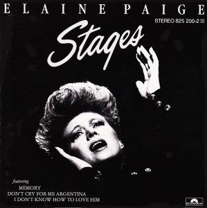 Cover - Elaine Paige: Stages