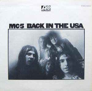 MC5: Back In The USA - Cover