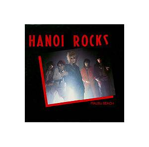 Cover - Hanoi Rocks: Malibu Beach