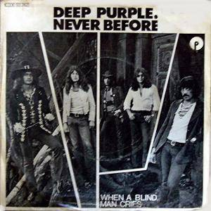 Deep Purple: Never Before - Cover
