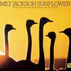 Milt Jackson: Sunflower - Cover