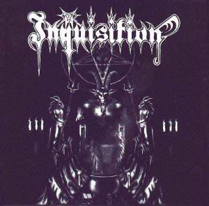 Inquisition: Invoking The Majestic Throne Of Satan - Cover