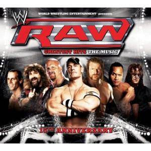 WWE Raw Greatest Hits The Music - Cover