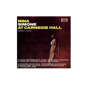 Nina Simone: At Carnegie Hall - Cover