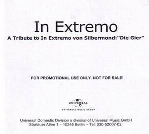 "Cover - Silbermond: Tribute To In Extremo Von Silbermond:""Die Gier"", A"