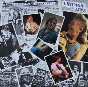 John Mayall's Bluesbreakers: Chicago Line - Cover