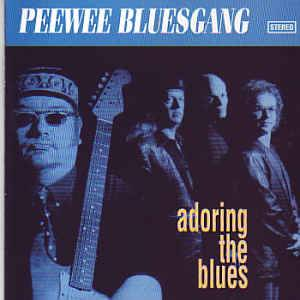Cover - Pee Wee Bluesgang: Adoring The Blues