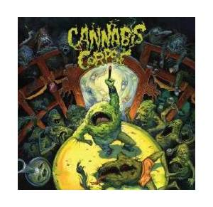 Cannabis Corpse: Weeding, The - Cover