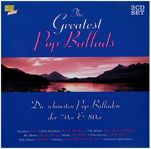 Greatest Pop Ballads, The - Cover