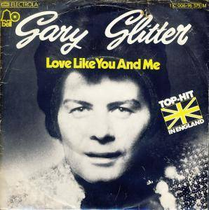 Gary Glitter: Love Like You And Me - Cover