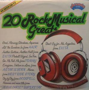 Cover - Stephen Schwartz: 20 Rock Musical Greats
