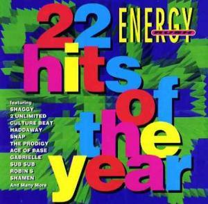 Energy Rush - Hits Of The Year - Cover