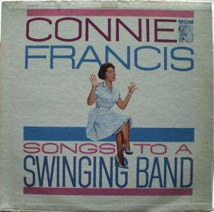 Cover - Connie Francis: Songs To A Swingin' Band